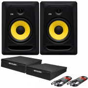 View and buy KRK Rokit Classic 8 Pair with XLR Cables & Isolation Pads online