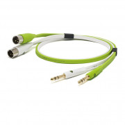 View and buy NEO D+ Class B Twin TRS -> Twin XLRM Cable - 1m online