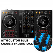 View and buy DDJ-400 with Custom Light Blue Knobs & Faders Pack online