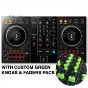 View and buy DDJ-400 with Custom Green Knobs & Faders Pack online