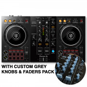 View and buy DDJ-400 with Custom Grey Knobs & Faders Pack online