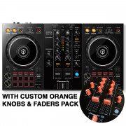 View and buy DDJ-400 with Custom Orange Knobs & Faders Pack online