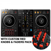 View and buy DDJ-400 with Custom Red Knobs & Faders Pack online