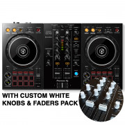 View and buy DDJ-400 with Custom White Knobs & Faders Pack online