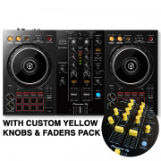 View and buy DDJ-400 with Custom Yellow Knobs & Faders Pack online