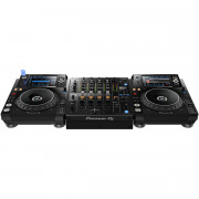 View and buy Pioneer 2 x XDJ1000MK2 + DJM750MK2 Bundle online