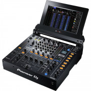 View and buy Pioneer DJM-TOUR1 4-channel digital mixer with fold-out touch screen online