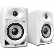 View and buy Pioneer DM-40BT White Bluetooth Active Desktop Monitors (Pair) online