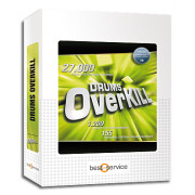 View and buy Best Service Drums Overkill Sample Disc online