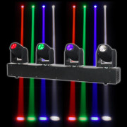 View and buy EQUINOX EQLED020 Slender Beam Bar Quad Moving Heads online