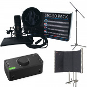 View and buy Audient EVO 4 + Sontronics STC-20 Pack Recording Bundle online