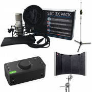 View and buy Audient EVO 4 + Sontronics STC-3X Pack Bundle online