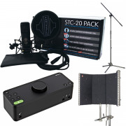 View and buy Audient EVO 8 + Sontronics STC-20 Pack Recording Bundle online
