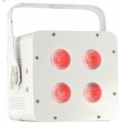 View and buy AFX FREE PAR HEX Wireless Uplighter - White online