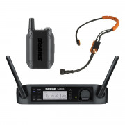 Buy the Shure SM Digital Wireless Presenter System With SM31 Fitness Headset (GLXD14UK-SM31) online