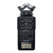 View and buy Zoom H6 Black Portable Audio Recorder online
