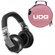 View and buy HDJ-X7S and UDG DIGI Headphone Bag Pink online