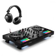 Buy the Hercules DJControl Inpulse 500 + HDP-DJ45 Headphones online