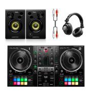 View and buy Hercules DJControl Inpulse 500 + Monitor 32 + DJ45 Headphones online