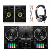 View and buy Hercules DJControl Inpulse 500 + Monitor 32 + HF125 Headphones online