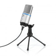 View and buy IK MULTIMEDIA iRig Mic Studio portable condenser mic for iOS, Mac, PC, Android online