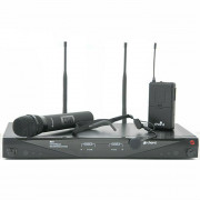 View and buy Chord RU2C Dual Combo UHF Microphone System (863.8 & 864.8MHz) online