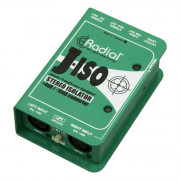 View and buy RADIAL J-ISO Stereo +4dB to -10dB Converter online