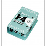 View and buy RADIAL J+4 Balanced -10Db To +4Db Signal Driver online
