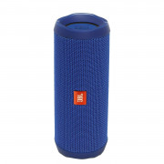 View and buy JBL Flip 4 Waterproof Bluetooth Speaker Blue online