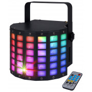 View and buy KAM MoonCluster LED Derby Light With Cluster Laser online