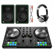 View and buy Native Instruments Kontrol S2 MK3 DJ Bundle With CR4-X + Headphones online