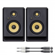 View and buy KRK ROKIT 5 G4 Active Studio Monitor Pair with Cables online
