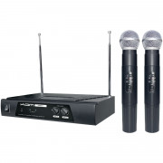 View and buy KAM KWM11 Dual VHF Wireless Mic System (173.8 -175.0Mhz) online