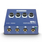 View and buy LD Systems HPA4 4-Channel Headphone Amp online