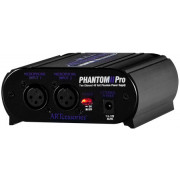 View and buy ART Phantom II Pro - Two Channel 12V/48 Phantom Power Unit online