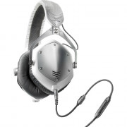 View and buy V-MODA Crossfade M-100 Headphones (White Silver)  online