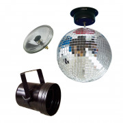 View and buy American DJ MBS-300 30cm Mirror Ball Kit online