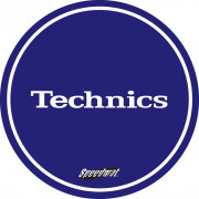 View and buy DMC Technics Speed Slipmats MBSPEED Pair Blue online