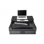 View and buy Magma Multi Format Workstation XXL Plus DJ flight case for large controllers with laptop shelf online