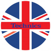 View and buy DMC Technics Union Jack Flag Slipmats MFL Pair  online