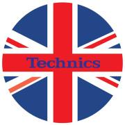View and buy DMC Technics Union Jack Flag Slipmats MFL Pair  online
