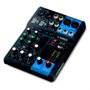 View and buy Yamaha MG06 6-Channel Mixing Console online