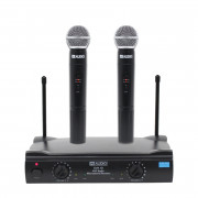 View and buy W Audio RM10 Twin Handheld VHF Radio Microphone System online