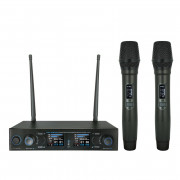 View and buy W-AUDIO DM800H Twin Handheld UHF Wireless Mic System (863.0Mhz-865.0Mhz) (MIC78) online