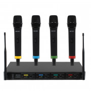 View and buy W AUDIO MIC80 RM Quartet 4 Radio Mic System online