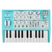 View and buy ARTURIA MicroBrute SE Blue limited edition analogue synth online