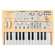 View and buy ARTURIA MicroBrute SE Orange limited edition analogue synth online