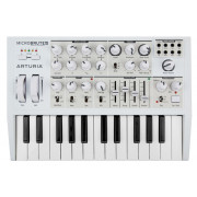 View and buy ARTURIA MicroBrute SE White limited edition analogue synth online