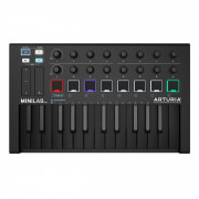 View and buy Arturia MiniLab MKII Deep Black online
