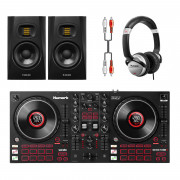 View and buy Numark Mixtrack Platinum FX + T5V Monitors + Headphones online